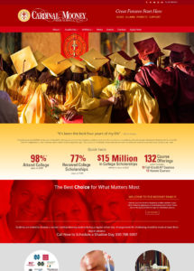 Cardinal Mooney high school website