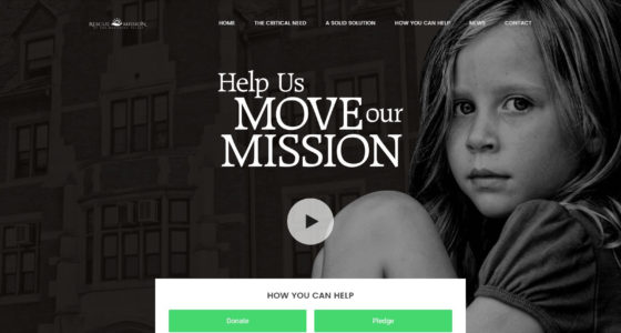 Rescue Mission of Mahoning Valley Move Our Mission website
