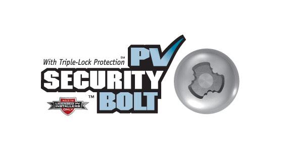 PV Security Bolt logo