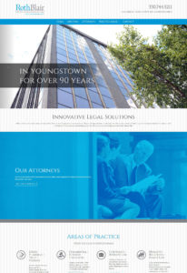 Roth Blair attorneys website