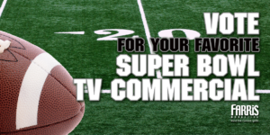 Vote for your favorite Super Bowl commercial