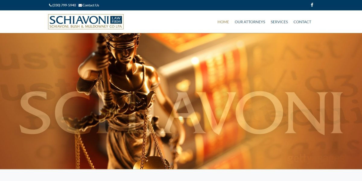 Schiavoni Law Firm Website