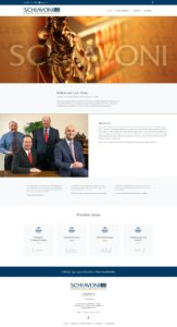 Schiavoni Law Firm Website