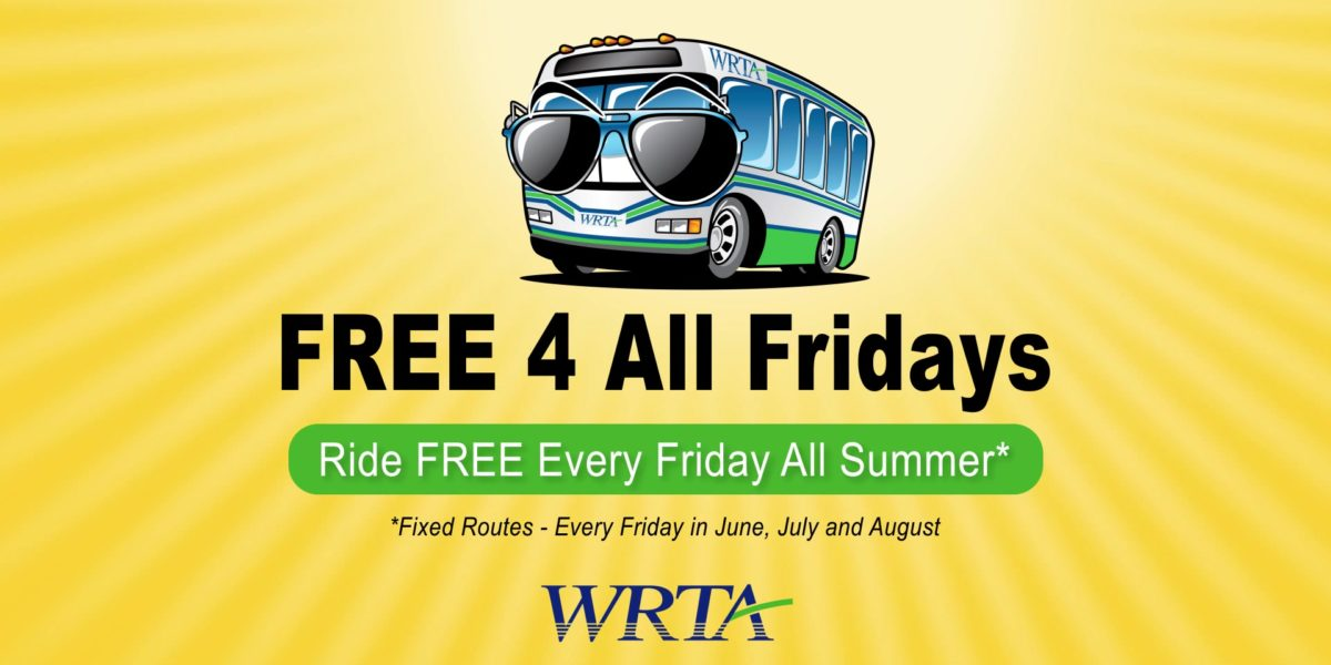 WRTA Free 4 All Fridays TV Spot