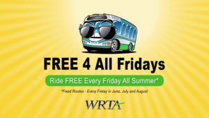 WRTA Free 4 All Fridays TV Spot