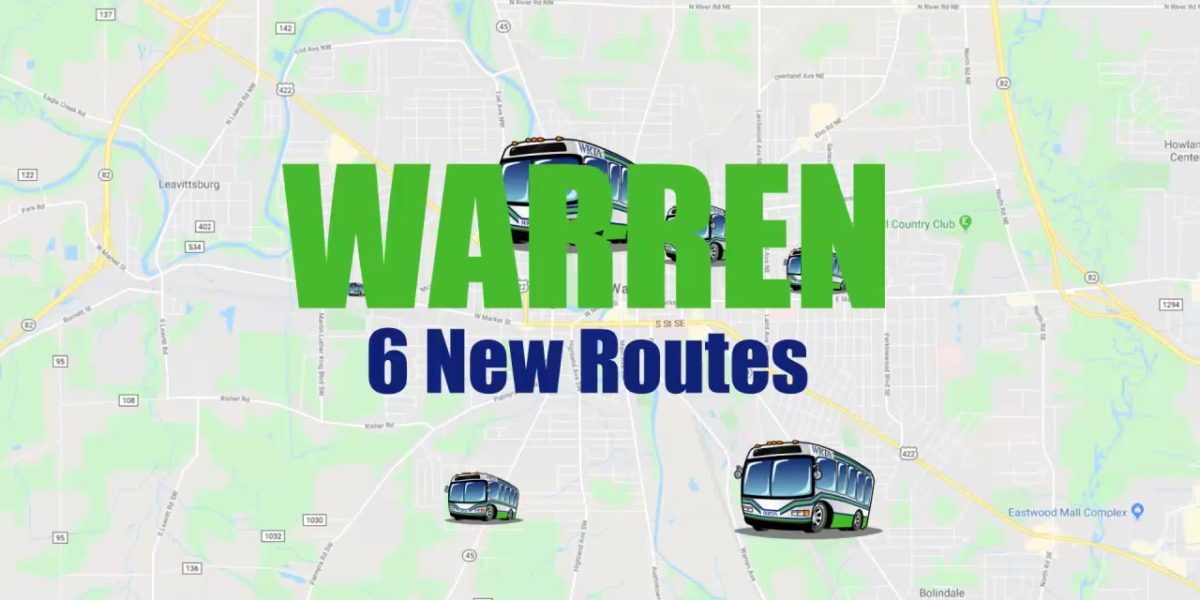 WRTA New Warren Routes