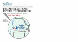 Meridian HealthCare Postcards