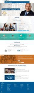 Meridian HealthCare Website