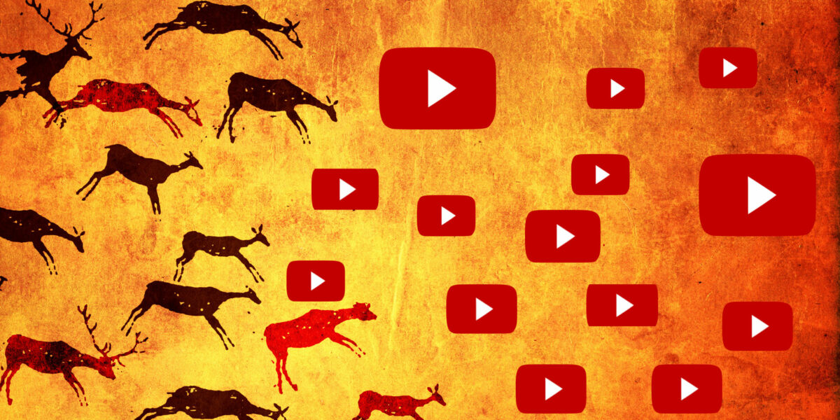 YouTube Cave Drawing